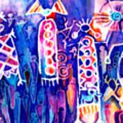 Petroglyph Two Art Print