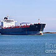 Petroleum Tanker En Route Art Print