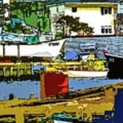 Petty Harbor Art Print