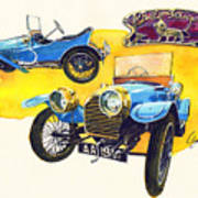 Peugeot Bebe Art Print