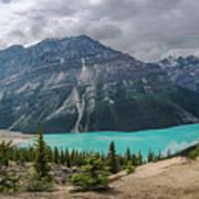 Peyto Lake Banff Art Print