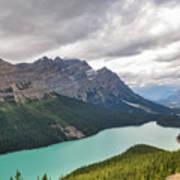 Peyto Lake - Banff National Park, Canada Art Print