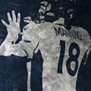 Peyton Manning Broncos 2 Art Print
