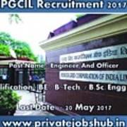 Pgcil Recruitment Art Print