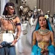 Pharaoh Of Egypt Exodus 2 Art Print