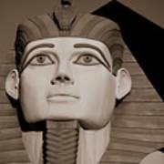 Pharaohs And Pyramids Art Print
