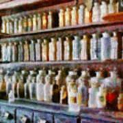 Pharmacy - Pick And Elixir Art Print