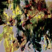 Pharrell Williams Paint Splats Art Print