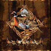 Pheasant Lodge Art Print