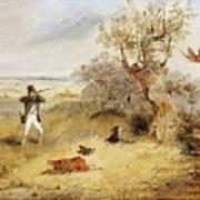 Pheasant Shooting Henry Thomas Alken Art Print