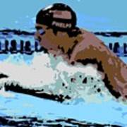 Phelps 2 Art Print
