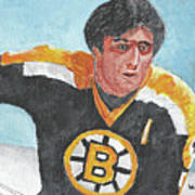 Phil Esposito Art Print