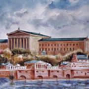 Philadelphia Art Museum Art Print by Joyce A Guariglia