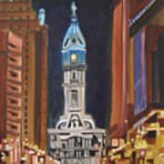 Philadelphia City Hall Print by Patricia Arroyo