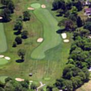 Philadelphia Cricket Club Wissahickon Golf Course 16th Hole Art Print by Duncan Pearson