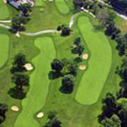 Philadelphia Cricket Club Wissahickon Golf Course 18th Hole Art Print