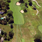 Philadelphia Cricket Club Wissahickon Golf Course 6th Hole Art Print by Duncan Pearson