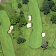Philadelphia Cricket Club Wissahickon Golf Course 7th Hole Art Print by Duncan Pearson