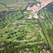 Philadelphia Cricket Club Wissahickon Militia Hill Golf Courses Art Print by Duncan Pearson