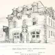 Philadelphia Firehouse Art Print