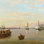 Philadelphia Harbor Art Print