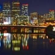 Philadelphia Pa River View Art Print
