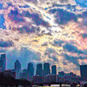 Philadelphia Sky Art Print