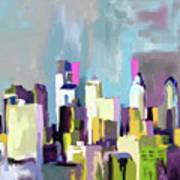 Philadelphia Skyline 650 1 Art Print