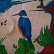 Philippine Kingfisher Painting Contest 6 Art Print