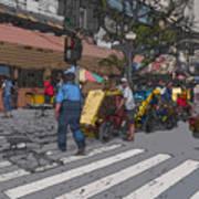 Philippines 906 Crosswalk Art Print