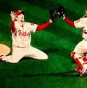 Phillies Win The World Series Art Print