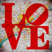 Philly Love V1 Art Print
