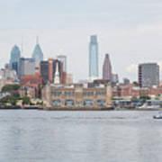 Philly Skyline Art Print