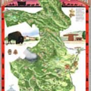 Philmont Scout Ranch Poster Art Art Print