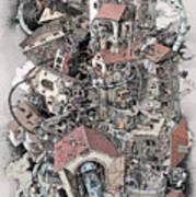Philosophia Turbae Art Print