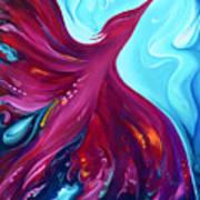 Phoenix Creation Rising Art Print