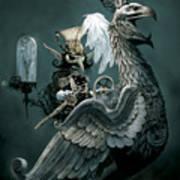 Phoenix Goblineer Art Print by Paul Davidson
