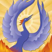 Phoenix Rising Art Print
