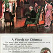 Phonograph, 1914 Art Print