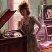 Phonograph Days Art Print