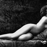Photo Erotique D'une Femme Nue Art Print