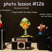 Photo Lesson  Art Print