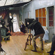 Photography Studio, C1878 Art Print
