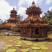 Phra Kaew Pavillion Art Print