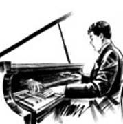 Pianist Art Print