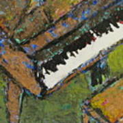 Piano Close Up 1 Art Print