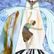 Piano Dance Art Print