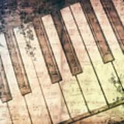 Piano Days Art Print