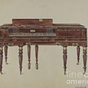 Piano Forte Art Print