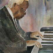 Piano Jazz Art Print